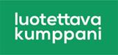 Luotettava kumppani, logo